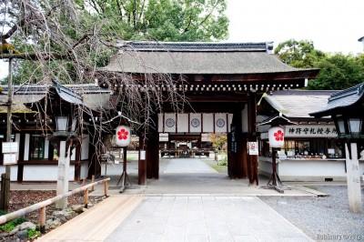 Hirano Shrine.