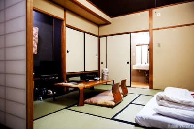 Our room at Nishiyama Ryokan.