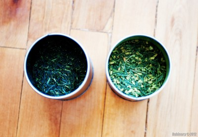 Japanese green tea.