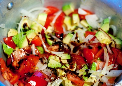 One of the salads.