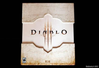 Diablo III. Collector's Edition box.