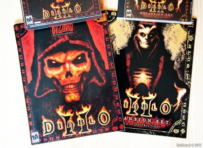 Diablo II and Diablo II Expansion.