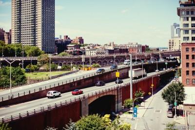 BQE. Brooklyn Queens Expressway.