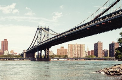 Manhattan Bridge.