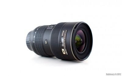 Nikon AF-S Nikkor 16-35mm f/4G ED VR lens.