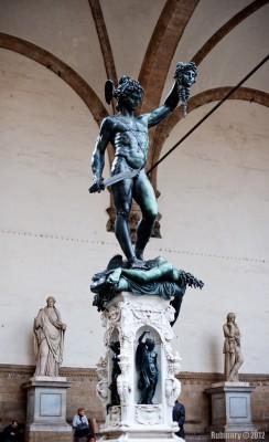 Cellini's Perseus.