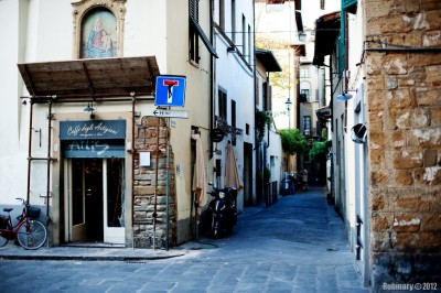 Little streets of Florence.