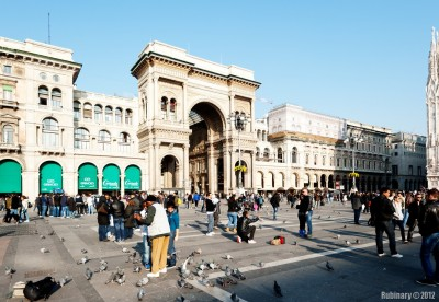 Milan. Main square.