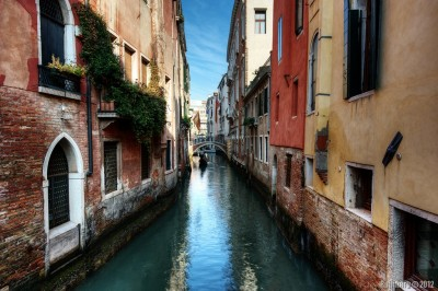 One of magical canals in Venice.