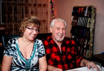 Grandma and grandpa.