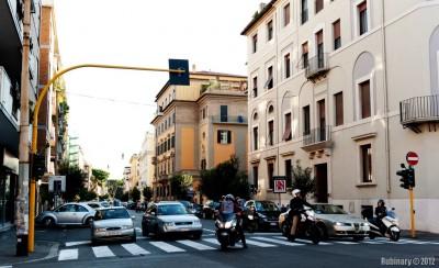 Rome street.