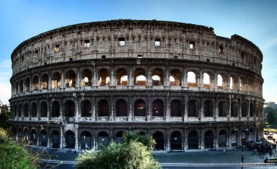 Coliseum itself.