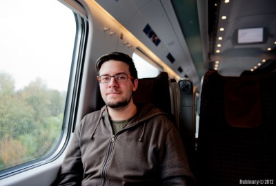 Lorenzo. Our companion on the train to Florence.
