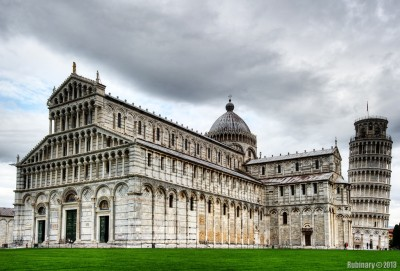 Central Cathedral and Tower of Pisa.