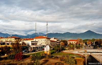 Resort town of Marina di Pietrasanta.