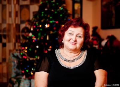Aunt Lilya.
