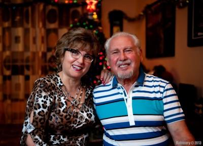 Papa and mama.