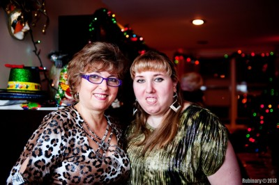 Mama and Lina.