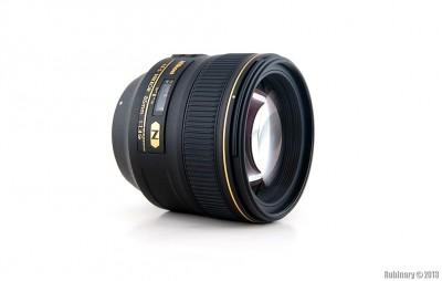 Nikon AF-S Nikkor 85mm f/1.4G lens.