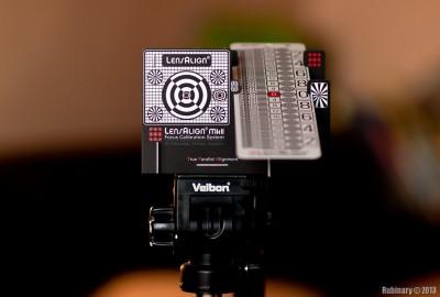 LensAlign test target.