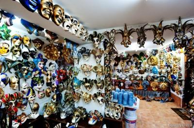 Venice masks.