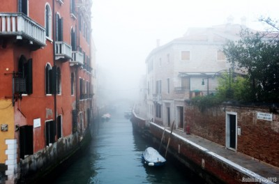 Foggy day. Venice.