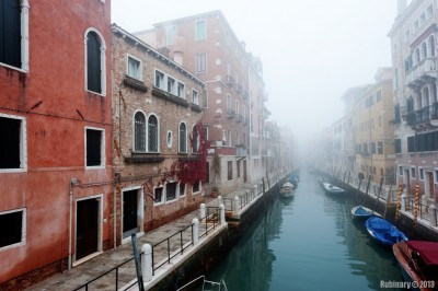 Venice. Fog.