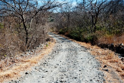 Unpaved road at Santa Rosa.