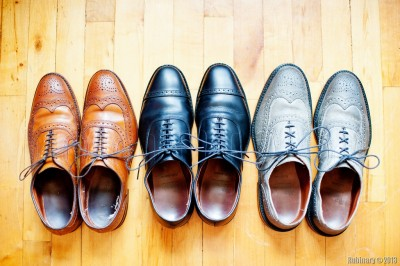 Allen Edmonds dress shoes.