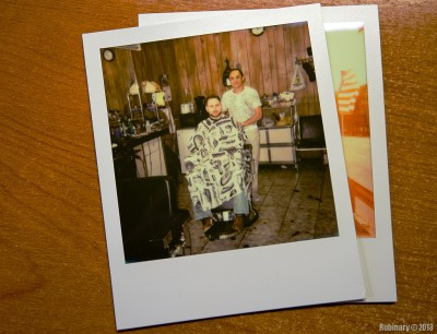 Barber shop. Impossible film.