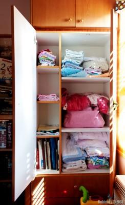 Baby closet.