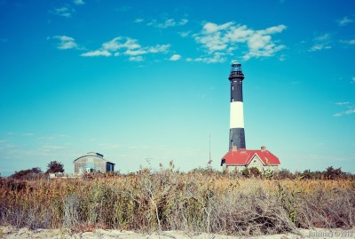 Fire Island Lighthouse.