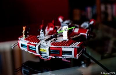 Jedi Defender-class Cruiser. Front.