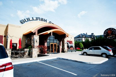 Bullfish Grill at Pigeon Forge, Tennesssee.