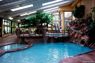 Pools at Gatlinburg Double Tree.