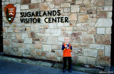 Sugarlands Visitor Center.