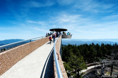 Observation tower at Clingmans Dome.