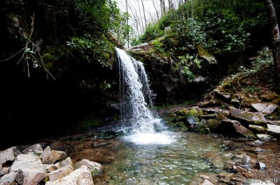Grotto Falls.
