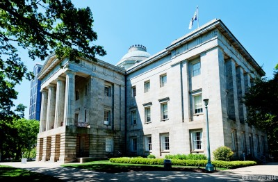 North Carolina Capitol.