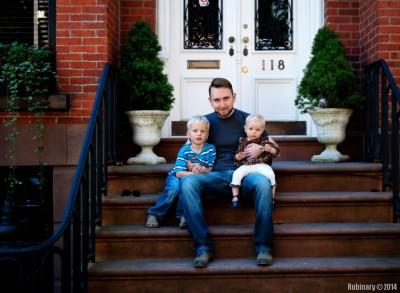 Kids and I.