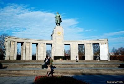 Memorial to soviet solders.