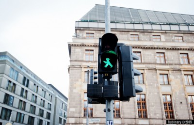 East Berlin traffic light.