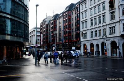 Berlin streets.