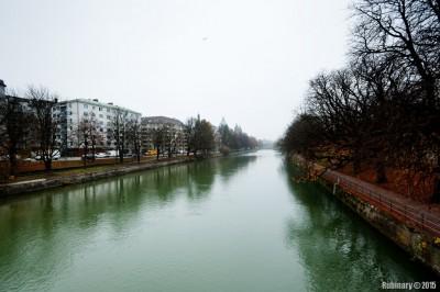 Isar River.