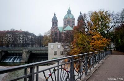 Sankt Lukas Kirche.