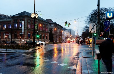 Streets of Vienna.