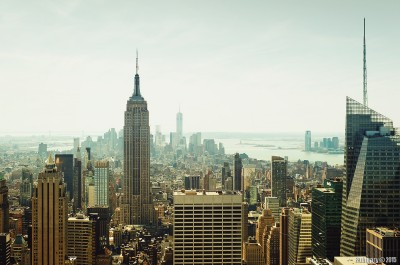 New York from the top.