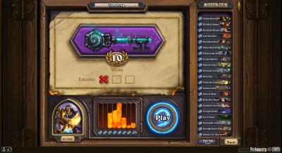 10 wins in a row in Arena.