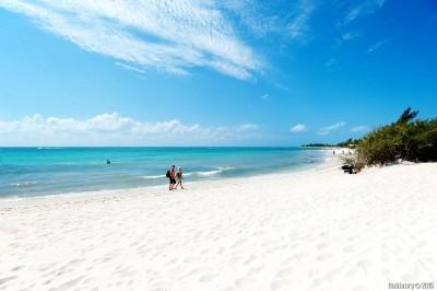 Riviera Maya. Beach.