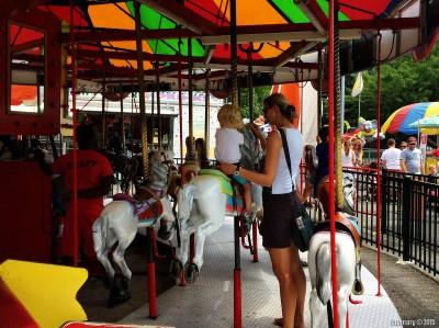 Carousel for Anna.